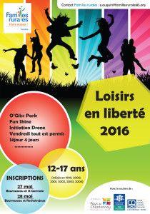 Affiche Loisirs en Liberté (Secteur de Chantonnay)