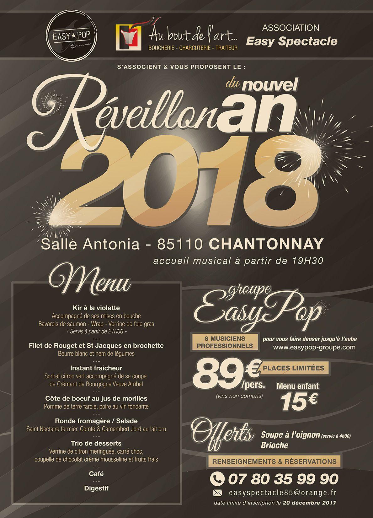 Reveillon Du Nouvel An 2018 Chantonnay