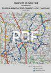Carte circuit en ligne - Tour Pays de Chantonnay 2015